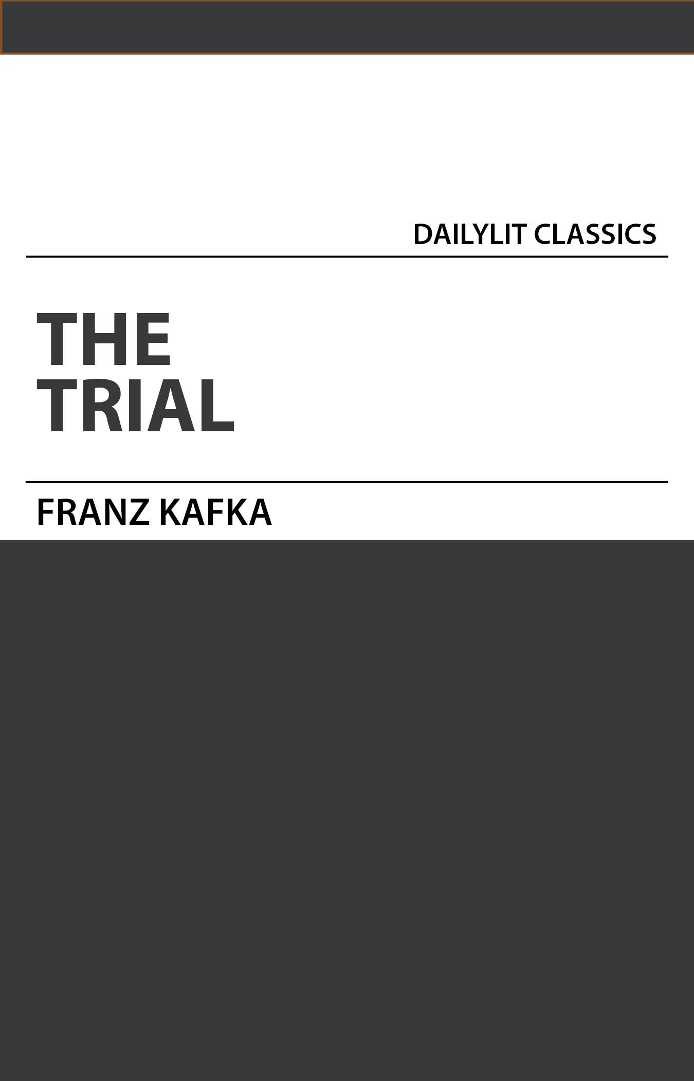 review of the trial by franz Franz kafka, author of the trial, on librarything.