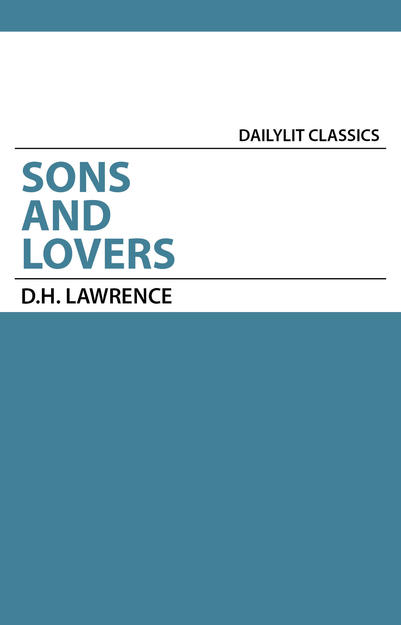an analysis of the novels sons and lovers and women in love by d h lawrence Women in love dh lawrence limited preview - 2015 particularly italy, where he wrote some of his most significant and most controversial novels, including sons and lovers and lady chatterly's lover lawrence and his wife, frieda.