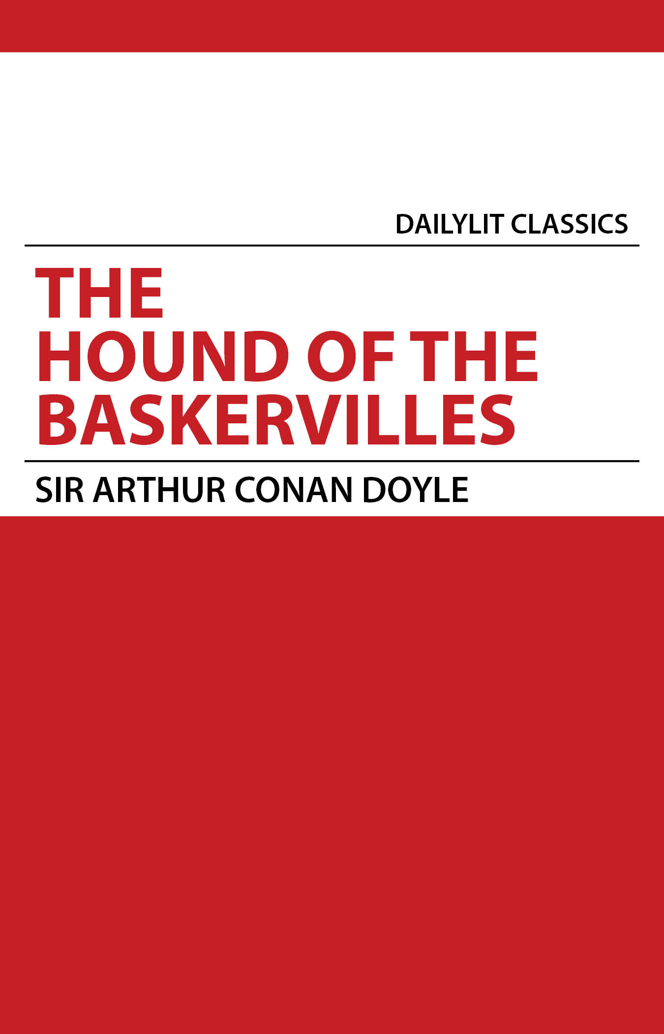 review of the book the hound of the baskervilles