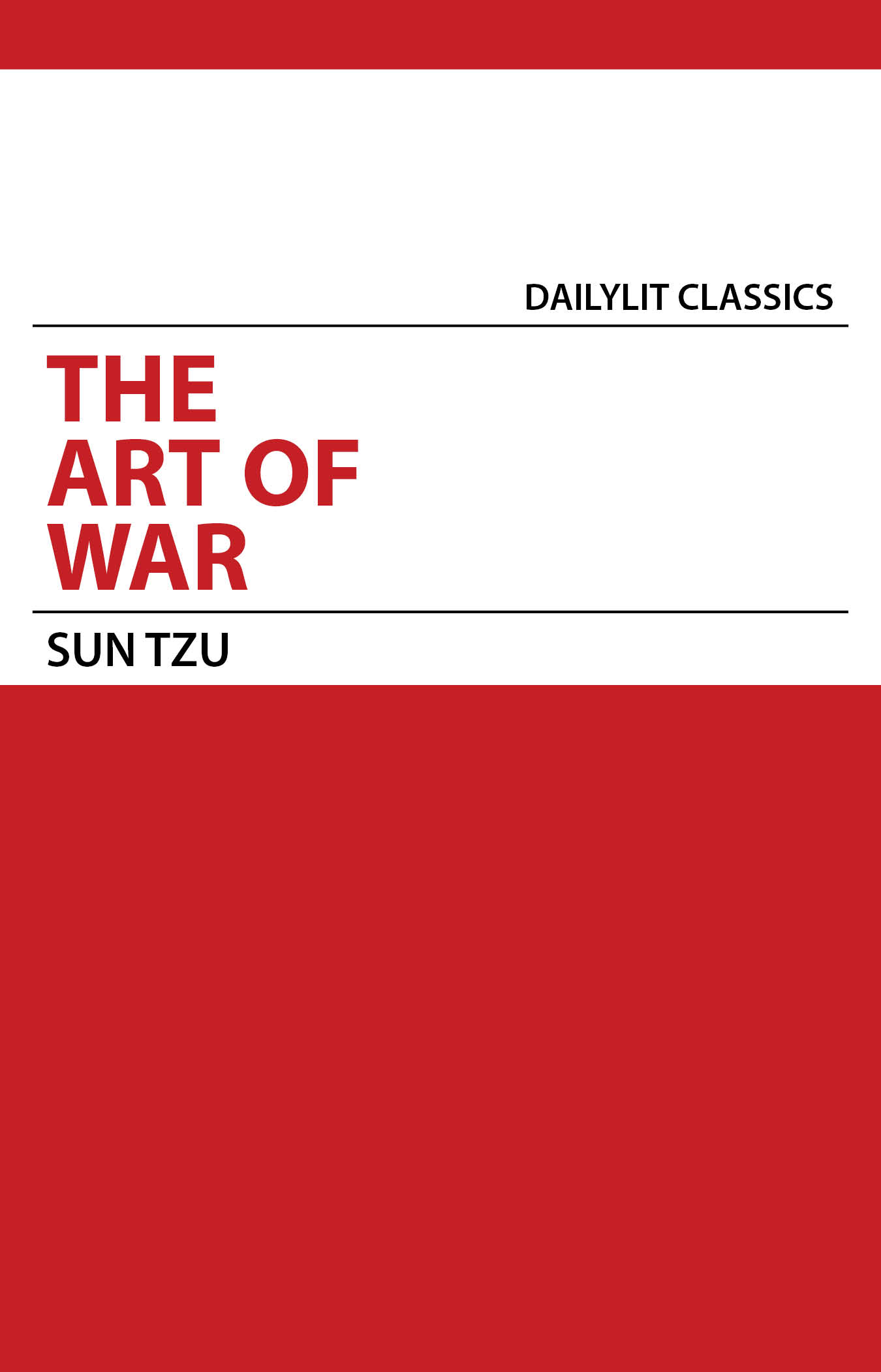 a review of the book the art of war by sun tzu (another book by ralph sawyer, the complete art of war, has both sun tzu's and sun pin's art of war, but without his in-depth analysis of sun tzu) [ buy this book ] griffith.