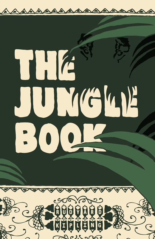 Classic Book Cover Jobs : Dailylit the jungle book by rudyard kipling